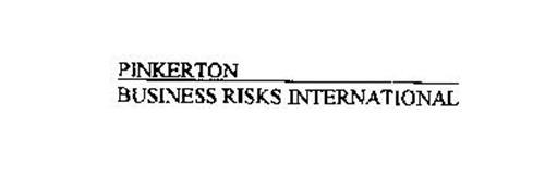 PINKERTON BUSINESS RISKS INTERNATIONAL