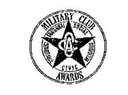 ACC MILITARY CLUB AWARDS FRATERNAL SOCIIAL RELIGIOUS CIVIC CHARITABLE
