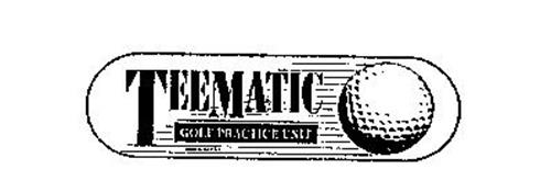 TEEMATIC GOLF PRACTICE UNIT MADE IN THE U.S.A.
