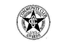 COMMUNITY CLUB AWARDS FRATERNAL CHARITABLE CIVIC RELIGIOUS SOCIAL