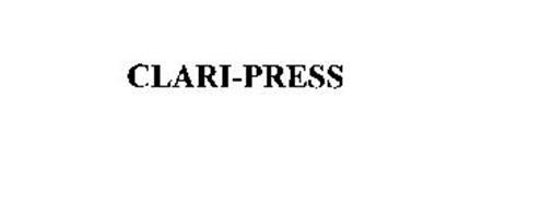 CLARI-PRESS