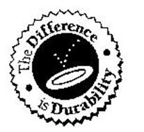 THE DIFFERENCE IS DURABILITY