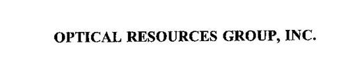 OPTICAL RESOURCES GROUP, INC.