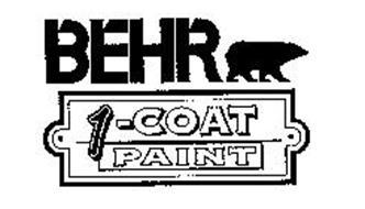 BEHR 1-COAT PAINT