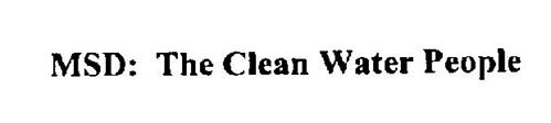 MSD: THE CLEAN WATER PEOPLE