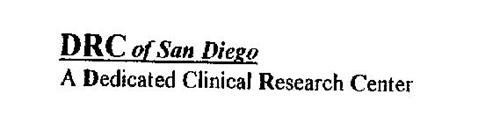 DRC OF SAN DIEGO A DEDICATED CLINICAL RESEARCH CENTER