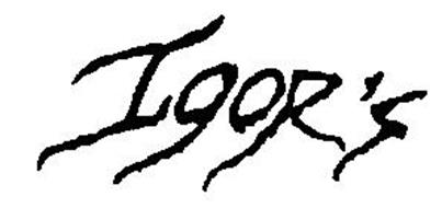 IGOR'S