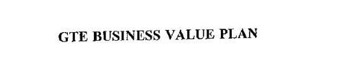 GTE BUSINESS VALUE PLAN