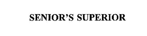 SENIOR'S SUPERIOR