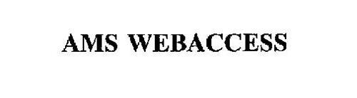 AMS WEBACCESS