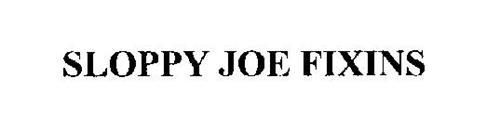 SLOPPY JOE FIXINS