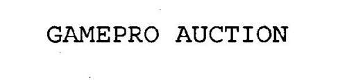 GAMEPRO AUCTION