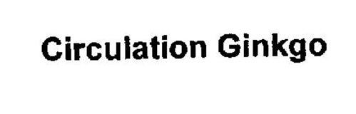 CIRCULATION GINKGO