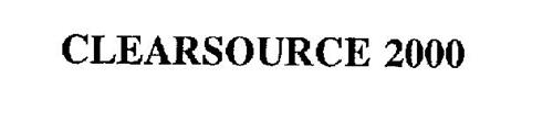 CLEARSOURCE 2000
