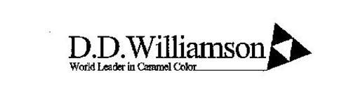 D.D. WILLIAMSON WORLD LEADER IN CARAMELCOLOR
