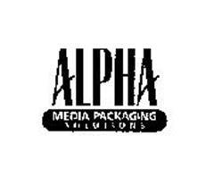 ALPHA MEDIA PACKAGING SOLUTIONS