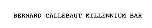 BERNARD CALLEBAUT MILLENNIUM BAR