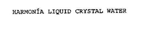 HARMONIA LIQUID CRYSTAL WATER