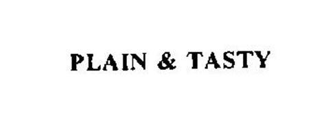 PLAIN & TASTY