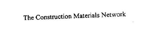 THE CONSTRUCTION MATERIALS NETWORK