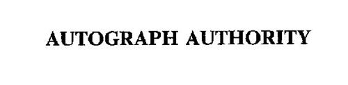 AUTOGRAPH AUTHORITY