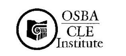 OSBA CLE INSTITUTE