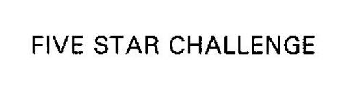 FIVE STAR CHALLENGE