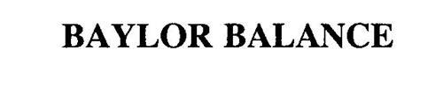 BAYLOR BALANCE