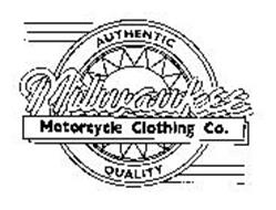 MILWAUKEE MOTORCYCLE CLOTHING CO. AUTHENTIC QUALITY
