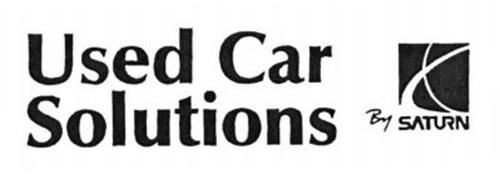 USED CAR SOLUTIONS BY SATURN
