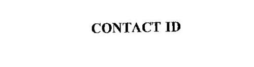 CONTACT ID