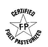 CERTIFIED FP FULLY PASTEURIZED