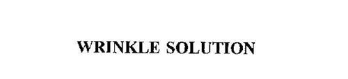 WRINKLE SOLUTION
