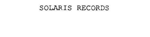 SOLARIS RECORDS