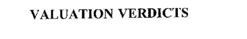 VALUATION VERDICTS