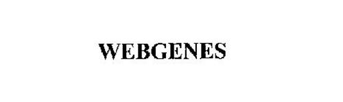 WEBGENES