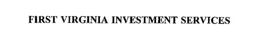 FIRST VIRGINIA INVESTMENT SERVICES