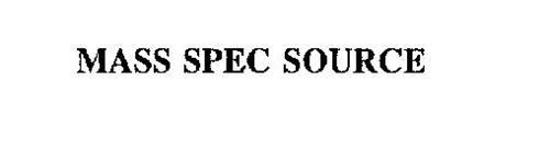 MASS SPEC SOURCE