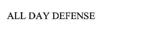 ALL DAY DEFENSE