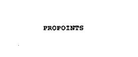 PROPOINTS