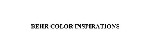 BEHR COLOR INSPIRATIONS