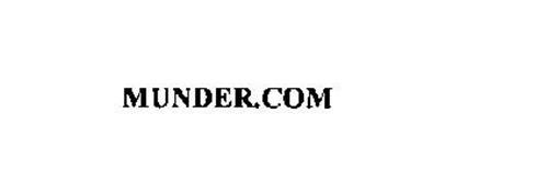 MUNDER.COM