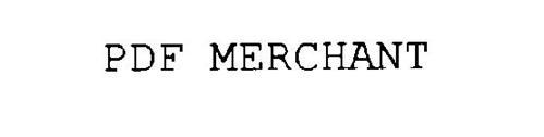 PDF MERCHANT