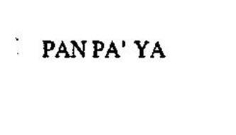 PAN PA' YA
