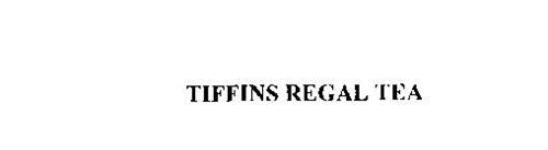 TIFFINS REGAL TEA