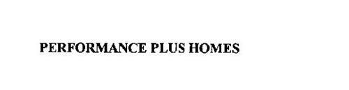 PERFORMANCE PLUS HOMES