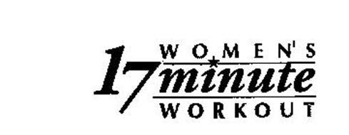 WOMEN'S 17 MINUTE WORKOUT