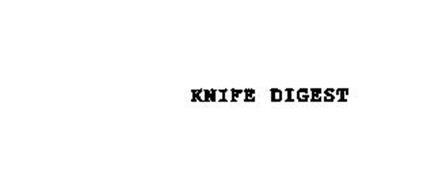 KNIFE DIGEST