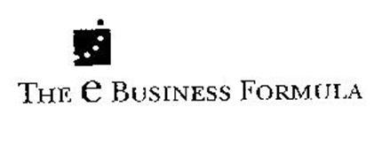 THE E BUSINESS FORMULA