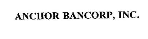 ANCHOR BANCORP, INC.